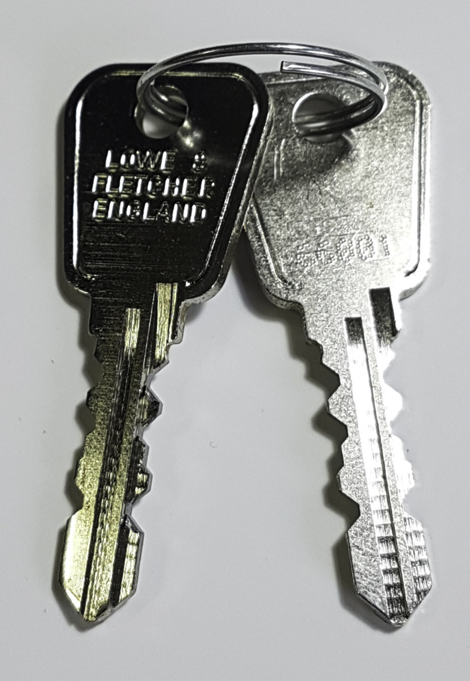 Lowe and Fletcher locker key cutting next day delivery