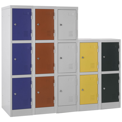 Primary and Secondary School Low Height Lockers
