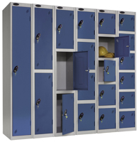 Probe Lockers With Open Doors