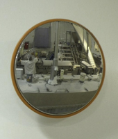 Food processing mirror