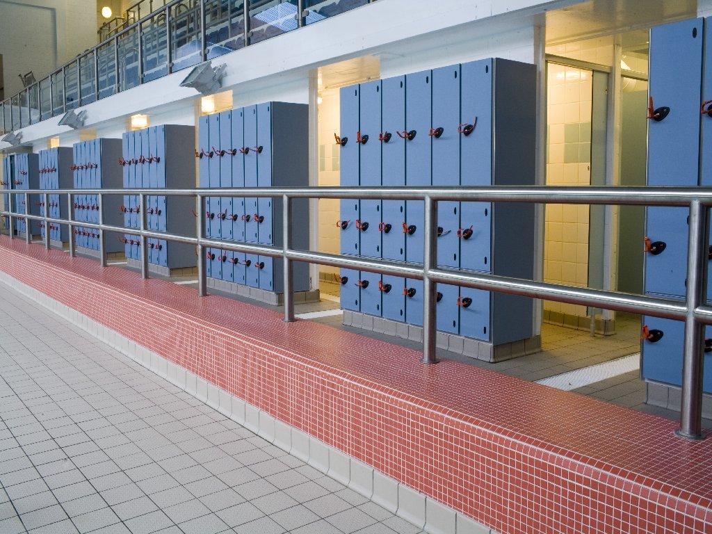 pool lockers