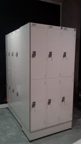 Heated lockers