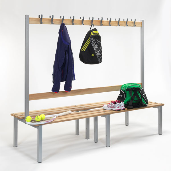 changing room seating