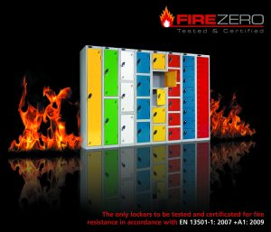 School lockers Probe Fire rated lockers
