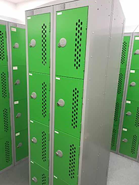 Existing lockers