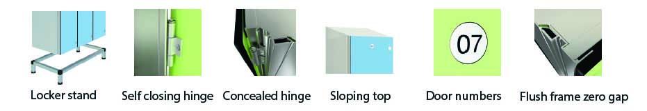 locker specification
